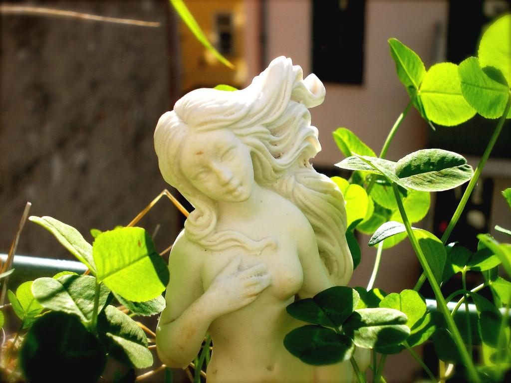Das schöne Frollein auf dem Balkon, Norbert W. Schlinkert