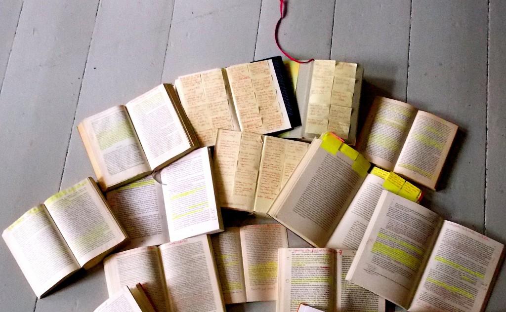 Bücher, die mit mir arbeiten, Norbert W. Schlinkert