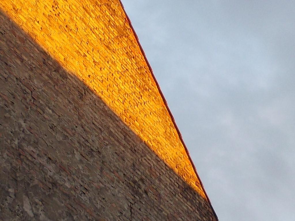 Goldene Brandmauer, Prenzlauer Berge, Norbert W. Schlinkert