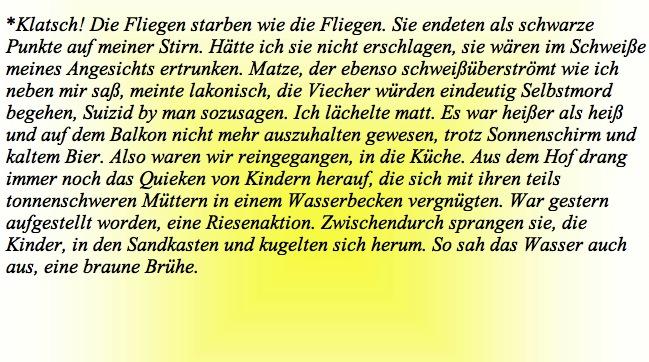 Klatsch! Norbert W. Schlinkert